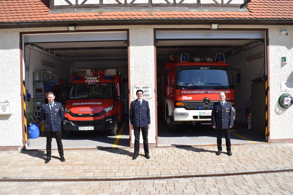 Wahl des stellv Kommandanten – Feuerwehr Forth