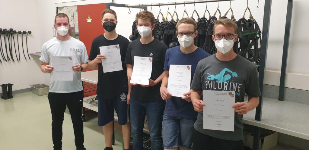 FF Forth Prufung Lehrgang Atemschutz 3 – Feuerwehr Forth
