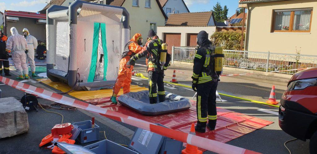 FF Forth Alarmubung 12 – Feuerwehr Forth